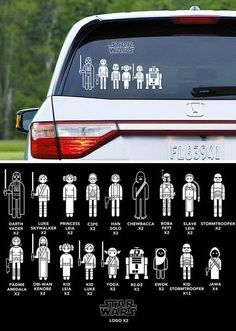 star wars car decals