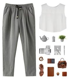 """""""Cessa x LUCLUC"""" by nauditaolivia ❤ liked on Polyvore featuring Ethan Allen, Eos, Simmons, Linea, Sandqvist and TOMS"""
