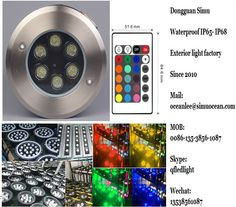 infrared control Smart 6 w outdroor landscape lighting  from Dongguan simu hardware lighting co,ltd. Auto change color or RF remote control color change or infrared control Smart color change or Wifi control or DMX Control led outdoor lighting