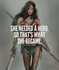 She needed a hero and 50 other great quotes for women. I love that the first of these girl power quotes features Wonder Woman. Fitting for a collection of inspirational quotes from women. Successful Life Quotes, Successful Women, Success Quotes, Wonder Woman Quotes, Super Woman Quotes, Plus Belle Citation, Motivational Quotes, Inspirational Quotes, Strong Women Quotes