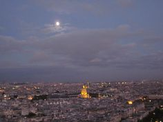 Napoleon's Tomb under the moonlight