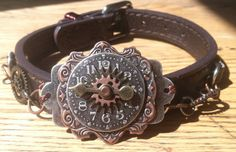 Steampunk  Mixed Metal Choker or Men's by FreckledDragonfly