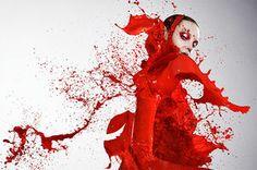 Photographer Iain Crawford Dresses Models in Paint « Art ...