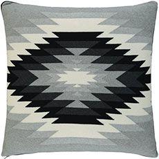Multicoloured Abstract Square Cushion 60cm x 60cm