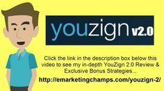 https://www.youtube.com/watch?v=drqU0yhCBlU YouZign 2 Review