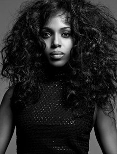 Kerry Washington photographed by Bryan Adams