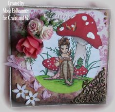 Crafts and Me Stamps: Dear diary