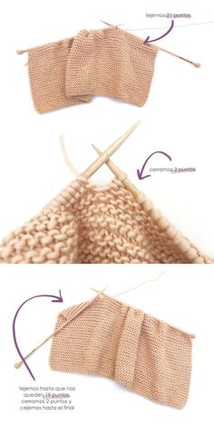 Learn How to Make this Knitted Girly Vest for a Baby. FREE Step by Step Pattern & Tutorial. Knitting Kits, Knitting For Kids, Free Knitting, Loom Knitting, Knitting Stitches, Love Crochet, Crochet Baby, Crochet Bikini, Knit Vest Pattern