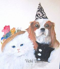 Bert and Daisy by VickiDianeDesigns on Etsy