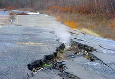 Centralia PA Mine fire been burning since 1962