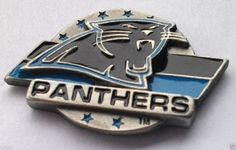 *** CAROLINA PANTHERS LOGO *** Novelty NFL Hat Pin P52062 EE