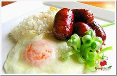 LONGSILOG   (Longganisa, Sinangag at Itlog) http://www.busogsarap.com/p/recipes.html