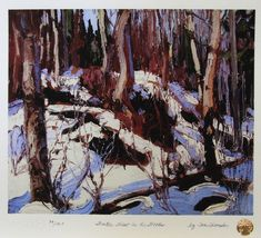 Tom Thomson Winter Thaw in the Woods