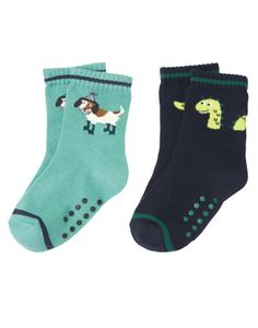 Loch Ness Heroes - Gymboree - Complete his look with our colorful and comfy monster and doggy sock two-pack. Made from cotton nylon spandex blend with a ribbed cuff.