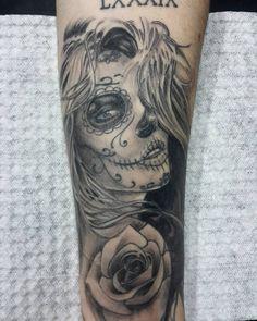 Trampo cicatrizado #tattoo #tatuaje #tatuage #tatuajes #catrina #catrinatattoo