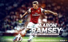Aaron Ramsey Wallpaper HD 2013 #1