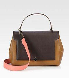 Colorblock Handbags That Look Just Like Celine's Bestselling 'Trapeze'