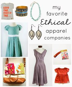 It's a Long Story: My Favorite Ethical Clothing Companies