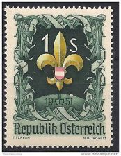 7th world jamboree scouts postage stamps - 1951-