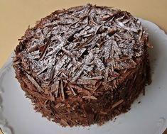 Citromhab: Borzas csokitorta