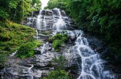 """The trip starts and ends, at Amicalola Falls, one of the top rated waterfalls in the state of Georgia. Amicalola, which is Cherokee for """"tumbling waters,"""" has more than seven falls in the State Park, including the tallest in Georgia at over 700ft."""