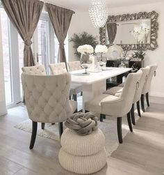 Below are the Wooden Touch Dinning Room Design Ideas. This post about Wooden Touch Dinning Room Design Ideas was posted under the Dining Room category by our team at August 2019 at am. Hope you enjoy it and . Dining Room Table Decor, Dining Room Design, Room Chairs, Dining Room Decor Elegant, Dining Chairs, Formal Dining Rooms, Kitchen Decor, Luxury Dining Room, Elegant Home Decor