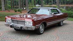 1973 Chrysler New Yorker Brougham Four-Door Sedan Maintenance/restoration of old/vintage vehicles: the material for new cogs/casters/gears/pads could be cast polyamide which I (Cast polyamide) can produce. My contact: tatjana.alic@windowslive.com