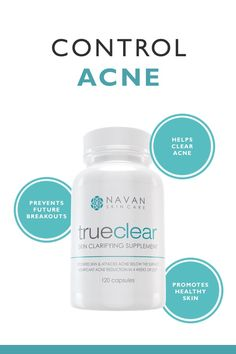 By utilizing quality natural ingredients, TrueClear helps clear persistent acne, zits, cystic acne, blackheads, inflammation, and even body acne. Try it today!