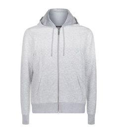 MICHAEL KORS Ombre Marl Front Zip Hoodie. #michaelkors #cloth #