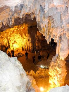 Halong Bay, Vietnam -  the Amazing Cave. Yes, it really is called the Amazing Cave and you know what, it really is amazing.