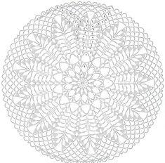 Crochet Doily Diagram, Crochet Doilies, Crochet Bags, Stuffed Animals, Dream Catcher, Beach Mat, Outdoor Blanket, Drawings, Crafts