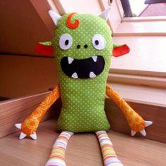 Monster rag doll | YouCanMakeThis.com