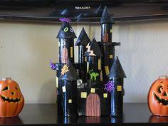 Image detail for -Home, Made: Spoooooooky Castle Kids Craft!