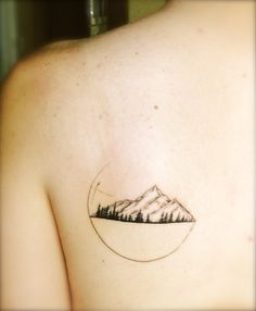 "mountains. pine trees. geometric shapes ""Heaven is under our feet as well as…"