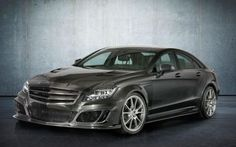 Mansory gives the Mercedes CLS63 AMG a carbon fiber makeover