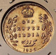 Wierd 1905 India Rupee