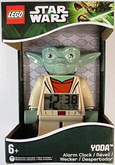 LEGO Unisex Star Wars Yoda Mini-Figure Alarm Clock LEGO http://www.amazon.com/dp/B004EVPLVY/ref=cm_sw_r_pi_dp_tG71ub0FF8QCV