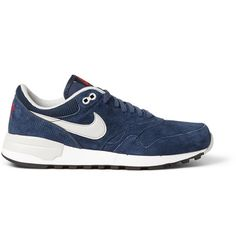 Shop men's sneakers at MR PORTER, the men's style destination. Discover our selection of over 400 designers to find your perfect look. Mr Porter, Shoe Box, Casual Shoes, Men's Shoes, Trainers, Nike Air, Sneakers Nike, Menswear, Man Shop