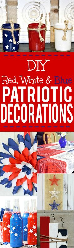 DIY Patriotic Decora