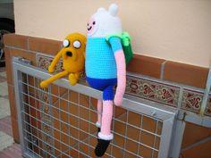 El duende del crochet: Hora de Aventuras, Finn y Jake
