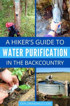 Learning how to safely filter water in the backcountry is one of the most important hiking skills a backpacker can learn. This guide will teach you what the risks are, how to avoid them, and how to choose the best water treatment method for your hiking and backpacking goals. #hikinggear #hiking #backpacking #hikingtips Backpacking Tips, Hiking Tips, Hiking Gear, Hiking Backpack, In Patagonia, Adventure Gear, Water Purification, Adventure Activities, Water Treatment