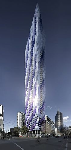 450 Elizabeth Street, Melbourne by Elenberg Fraser Architects :: 62 floors, height 197m