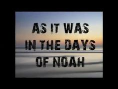 "AS IT WAS IN THE DAYS OF NOAH - AND OF LOT.  Will you be ready?  The time of our Lord's returning will be ""as it was in the days of Noah"" and ""as it was in the days of Lot"".  An anti-God culture, a counterfeit church, a compromising mixture, a new world order.  Truth speech is banned. Warnings are not heeded.  There are two kingdoms.  Remember Lot's wife. We need a restoration of truth.  Flee from the wrath to come and find your sure refuge in Christ today.  Be warned, take action."