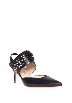 Nicholas Kirkwood Kitten heel pump with cutout details - Nathalie Schuterman Webshop
