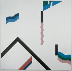 Mathew Cerletty 154, 2007 oil on linen 172,7 × 177,8 cm (68 × 70 inches)