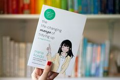 What we learnt from the latest book from Marie Kondo - the Life Changing Manga of Tidying up. A graphic novel that concisely explains how to tidy up. Tidying Up Book, Rock Around The Clock, Book Corners, Marie Kondo, Tidy Up, Latest Books, The Life, Life Changing, More Fun