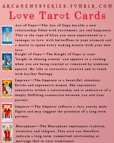 Love Tarot Cards.