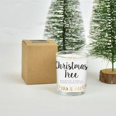 Christmas Scent Christmas Tree Candle