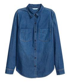 H&M jeans blouse