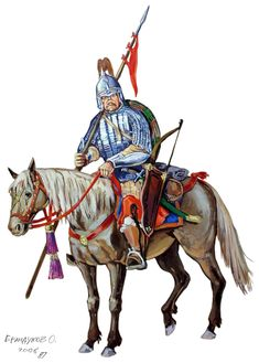 Tatar noble cavalryman, 1552